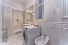 Bathroom in a a one bedroom apartment type 3 in Residence Masna