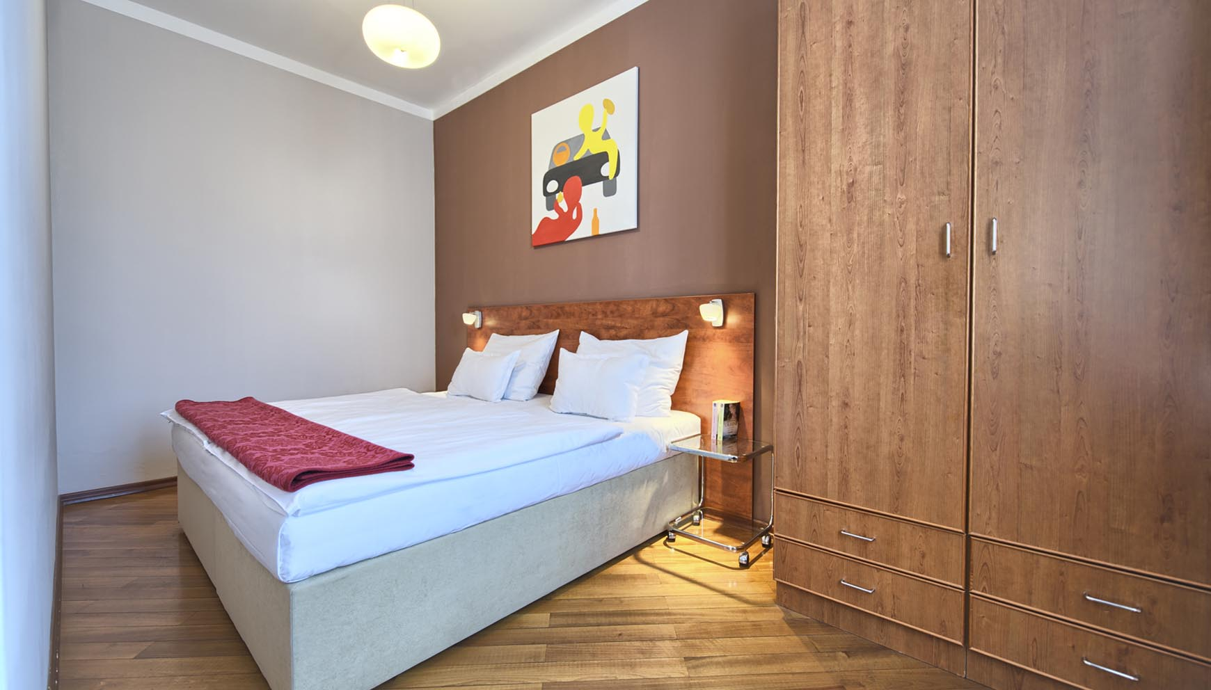 Residence Masna studio apartment type 1 bedroom